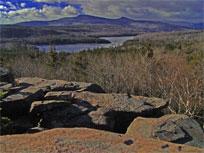 north/south lake region