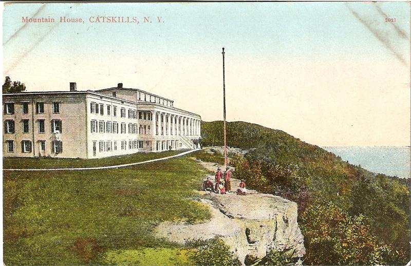 Post Card Of The Rebuilt Hotel