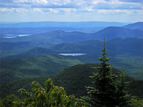 Catskill Mountains , Sugarloaf