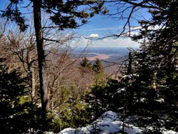 hiker can't descend Friday Mtn due to ice on march 20, 2019 which results in a SAR