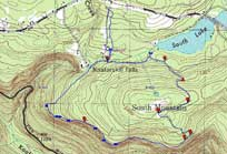 Topographic Map Mountains.Maps Of Catskill Mountains